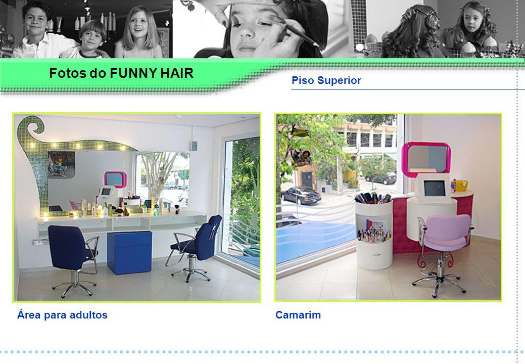 Piso Superior Área para adultosCamarim Fotos do FUNNY HAIR