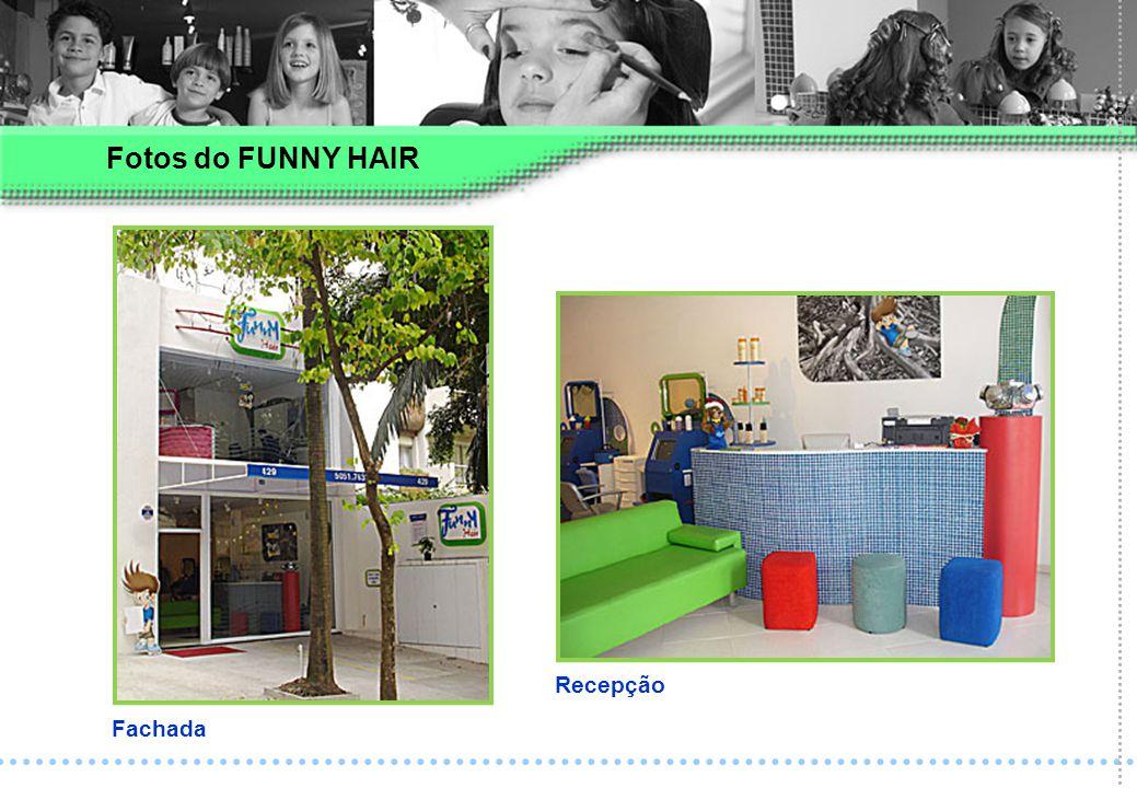 Fotos do FUNNY HAIR Fachada Recepção