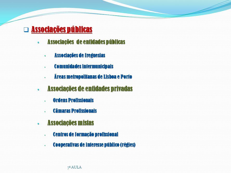 Associações públicas Associações de entidades públicas Associações de entidades públicas Associações de freguesias Associações de freguesias Comunidad