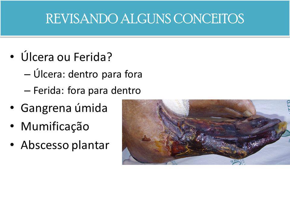 REVISANDO ALGUNS CONCEITOS Necrose isquêmica ou infecciosa.