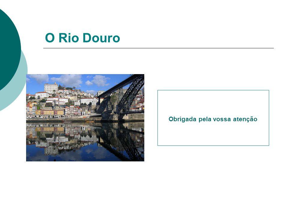 O Rio Douro Obrigada pela vossa atenção