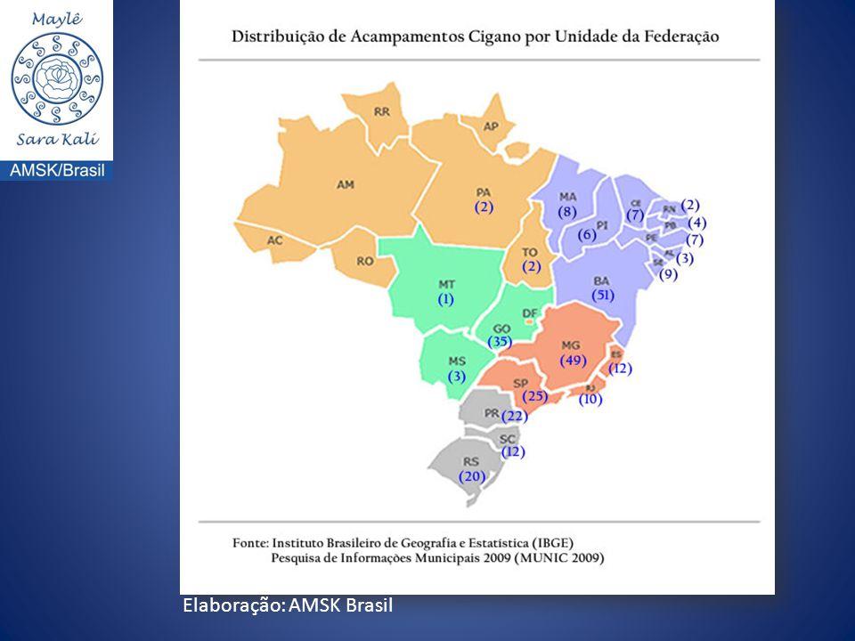 Elaboração: AMSK Brasil