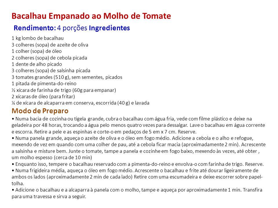 Casquinha de Siri Rendimento: 12 unidades Ingredientes Para o Recheio 1 cebola média (100 g), picada 3 colheres (sopa) de azeite 2 tomates médios (240 g), sem pele e sem sementes, picados grosso 2 colheres (sopa) de coentro picado 250 g de carne de siri ½ colher (sopa) de suco de limão 1 colher (chá) de sal 1 pitada de pimenta-do-reino ½ xícara de leite de coco (120 ml) Para a Farofa ½ colher (sopa) de azeite-de-dendê 1/3 de xícara de farinha de mandioca crua (55 g) 1 pitada de sal Modo de Preparo Preaqueça o forno a 200°C (quente).