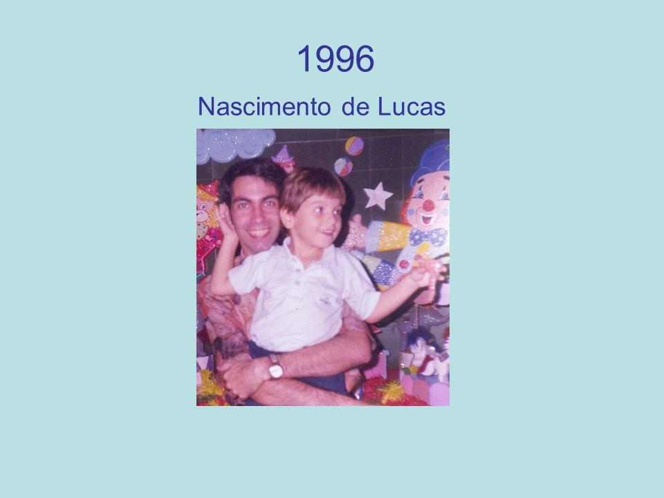 1996 Nascimento de Lucas
