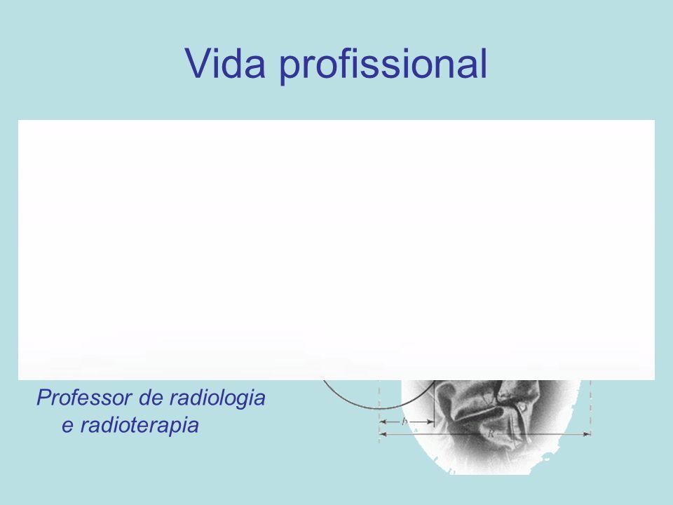 Vida profissional Professor de música (piano e teoria musical) Professor de matemática e física Professor de radiologia e radioterapia