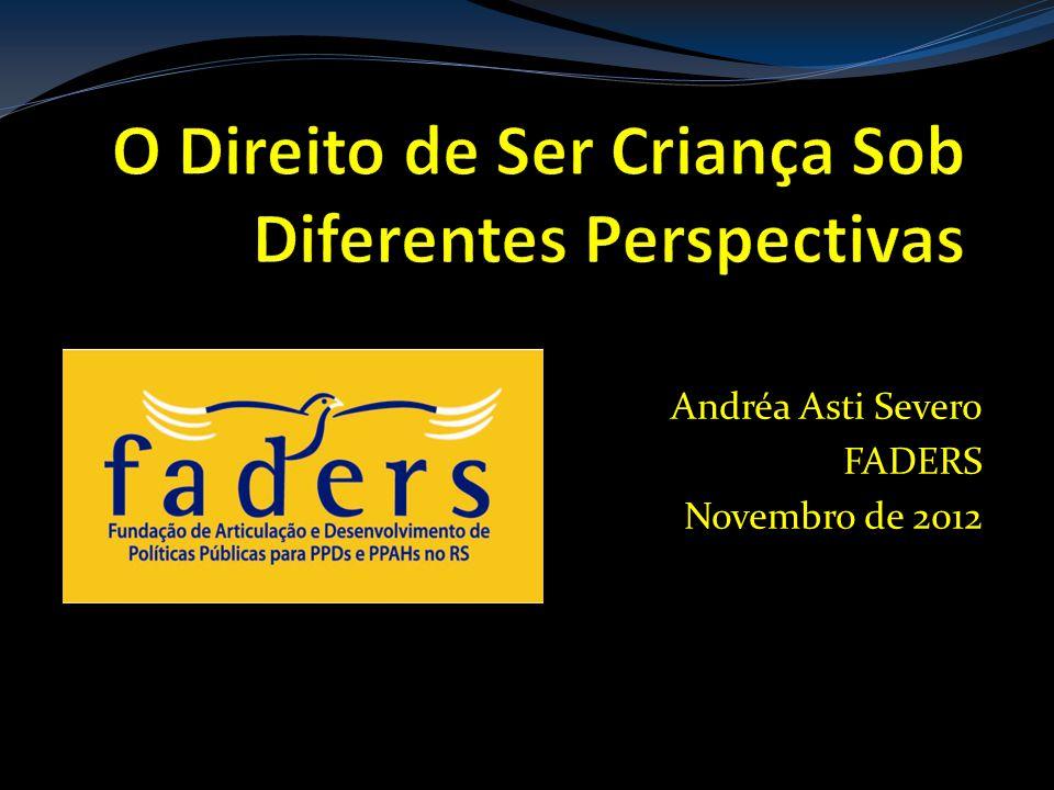 Andréa Asti Severo FADERS Novembro de 2012