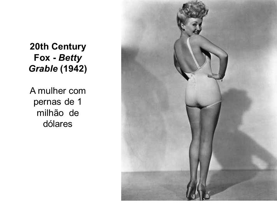 20th Century Fox - Betty Grable (1942) A mulher com pernas de 1 milhão de dólares