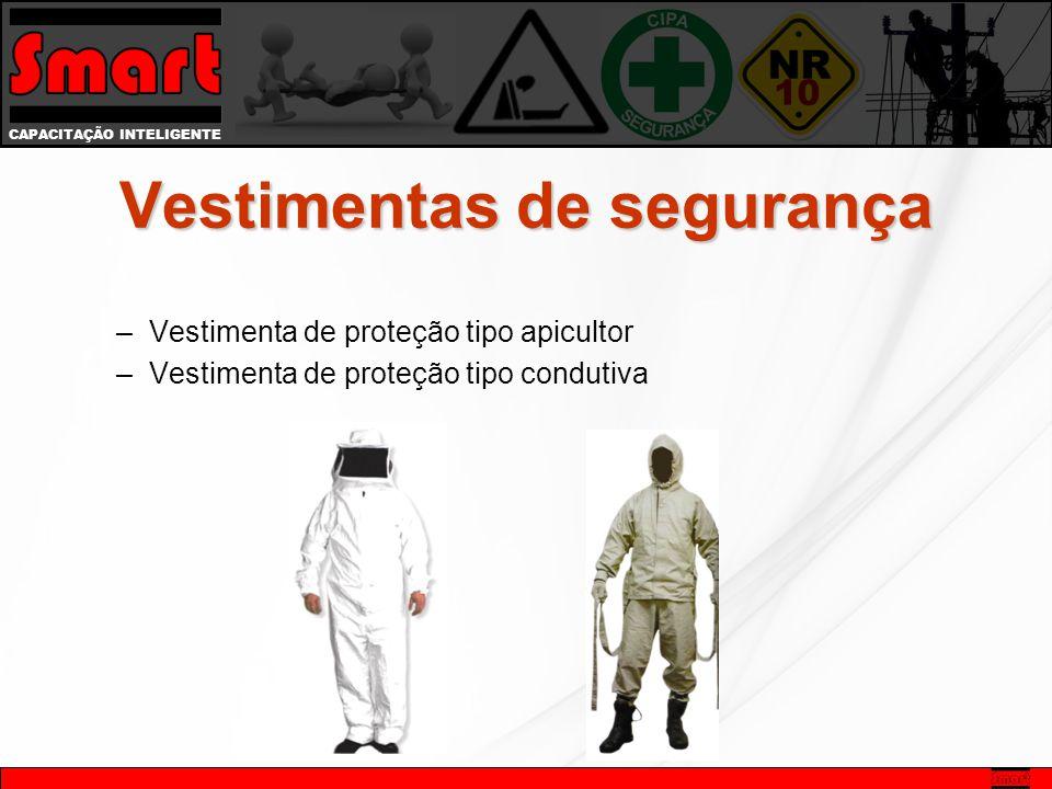 CAPACITAÇÃO INTELIGENTE –Vestimenta de proteção tipo apicultor –Vestimenta de proteção tipo condutiva Vestimentas de segurança