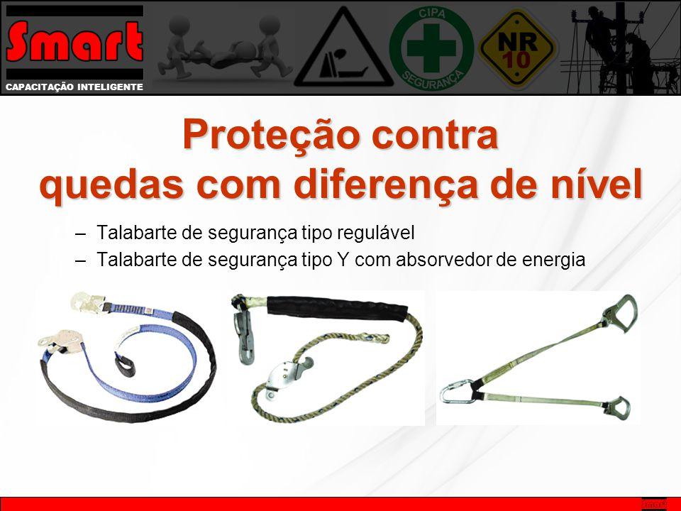 CAPACITAÇÃO INTELIGENTE –Talabarte de segurança tipo regulável –Talabarte de segurança tipo Y com absorvedor de energia Proteção contra quedas com dif