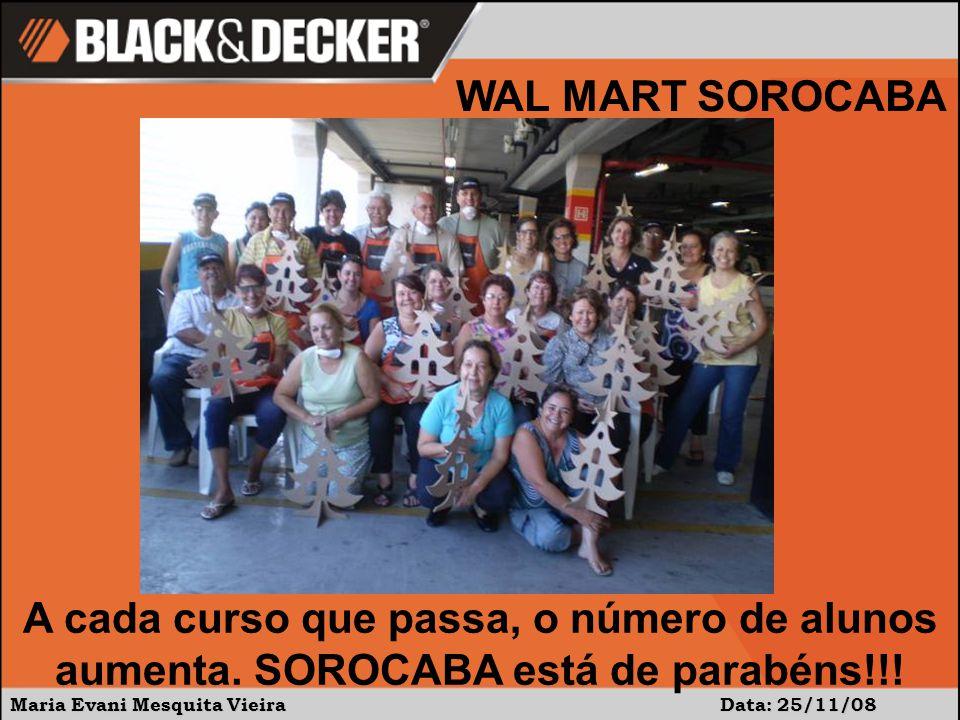 Maria Evani Mesquita Vieira Data: 25/11/08 A cada curso que passa, o número de alunos aumenta.