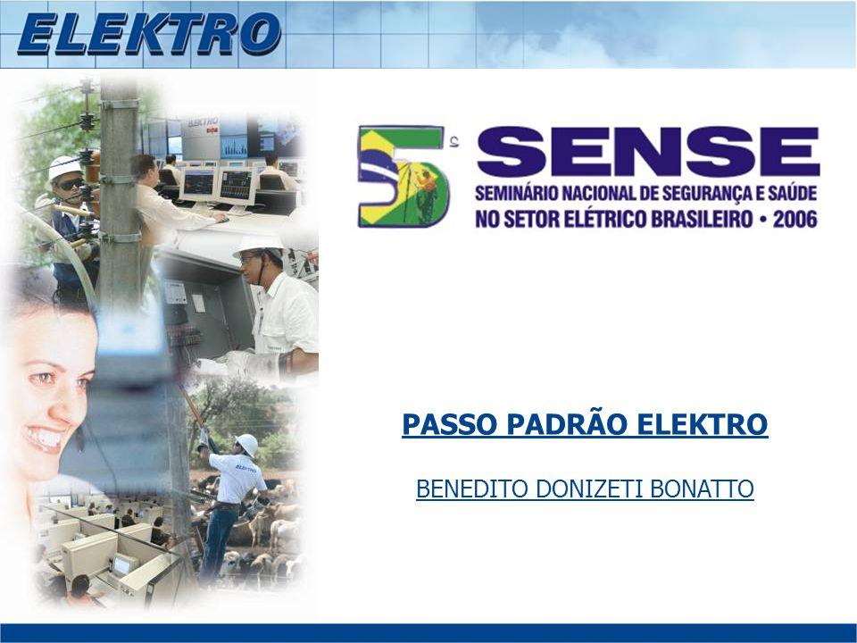 PASSO PADRÃO ELEKTRO BENEDITO DONIZETI BONATTO