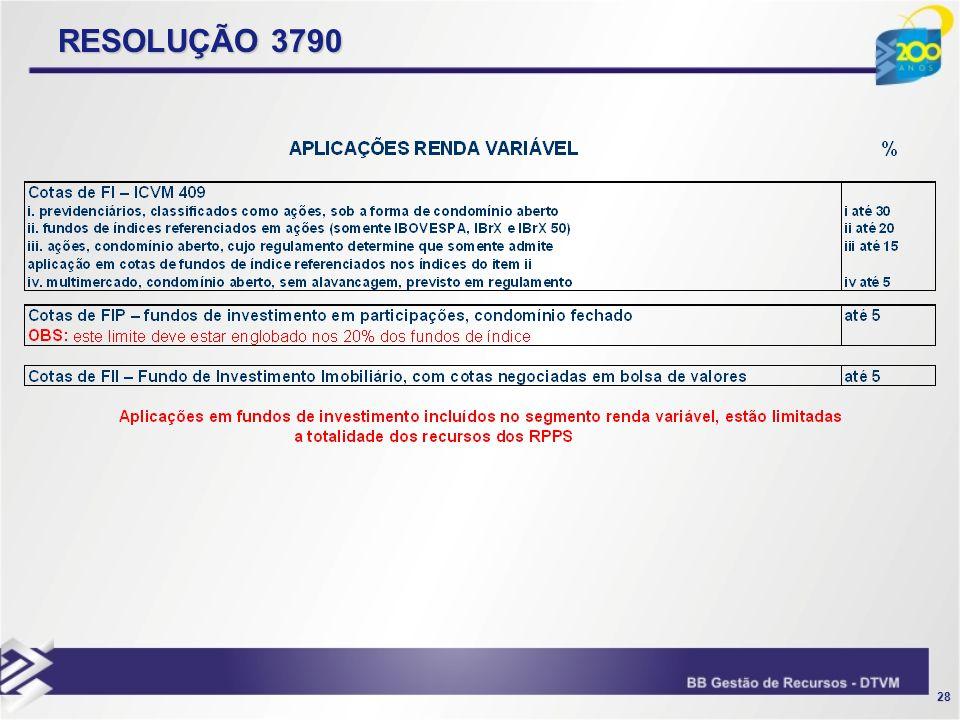 28 RESOLUÇÃO 3790