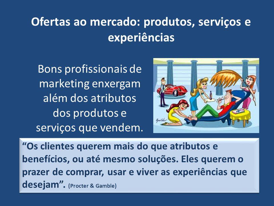 Valor e satisfação para o cliente Os consumidores se deparam com uma grande quantidade de produtos e serviços capazes de satisfazer determinada necessidade.