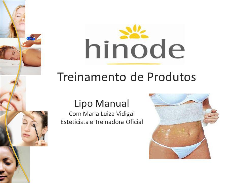 Treinamento de Produtos Lipo Manual Com Maria Luiza Vidigal Esteticista e Treinadora Oficial