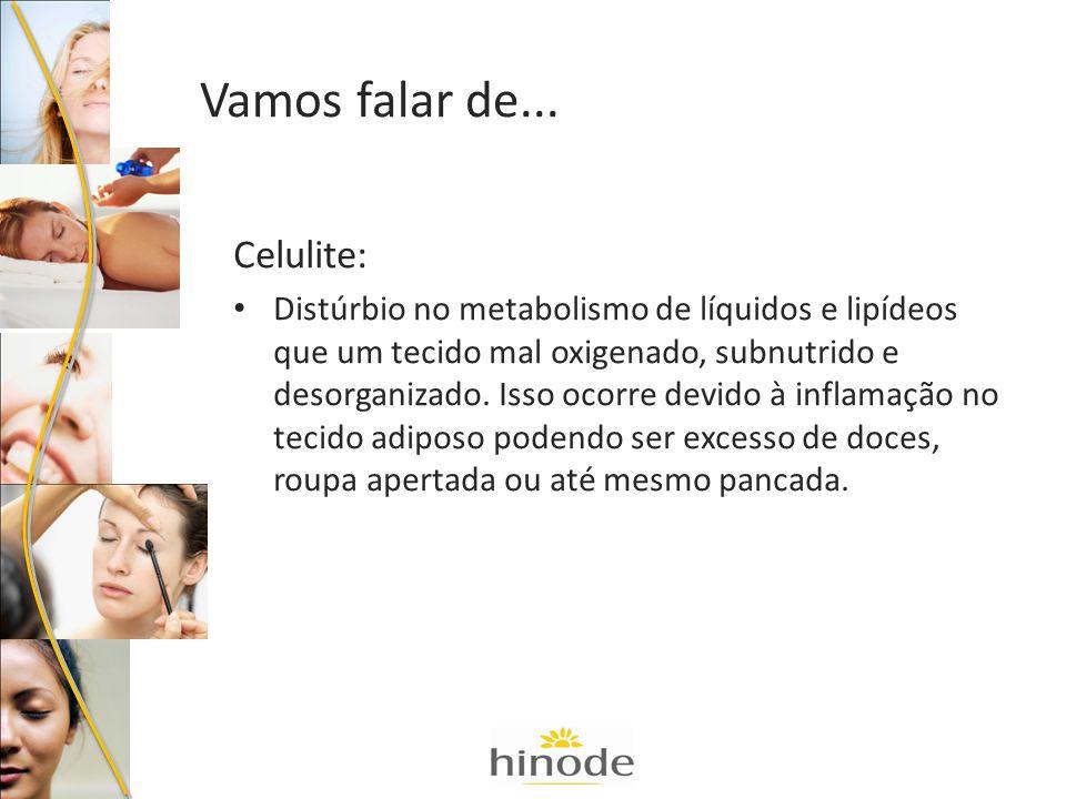 Flacidez: Enfraquecimento das fibras do tecido, falta de tonicidade da pele, falta de exercício.
