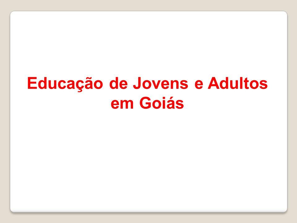 Educação de Jovens e Adultos em Goiás