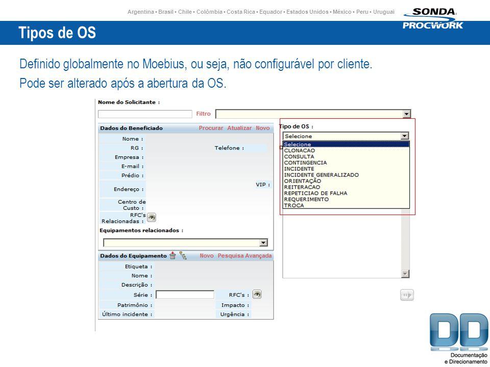 Argentina Brasil Chile Colômbia Costa Rica Equador Estados Unidos México Peru Uruguai Tipos de OS Definido globalmente no Moebius, ou seja, não configurável por cliente.