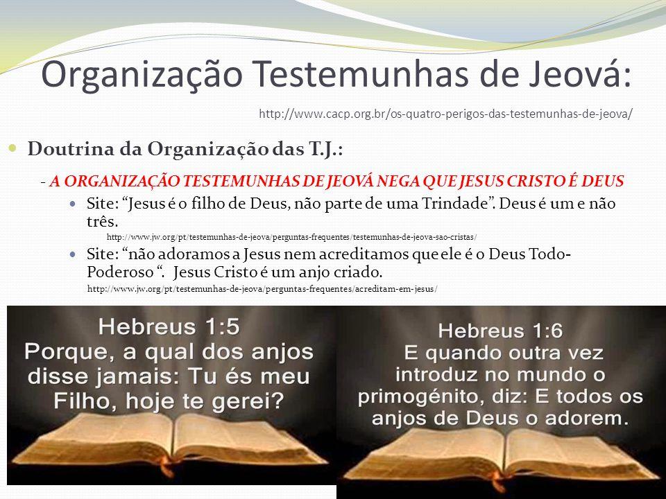 - AS TESTEMUNHAS DE JEOVÁ NÃO ACREDITAM NO INFERNO.