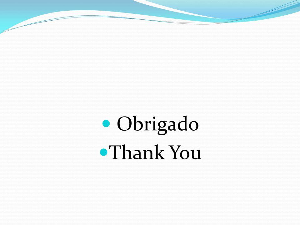 Obrigado Thank You