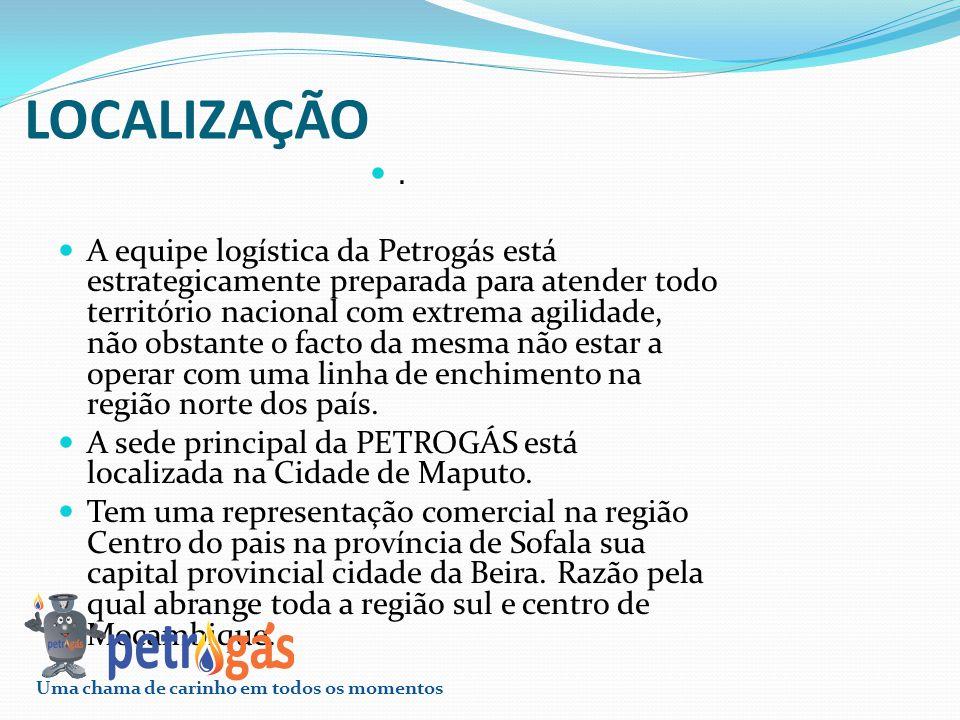LOCALIZAÇÃO. A equipe logística da Petrogás está estrategicamente preparada para atender todo território nacional com extrema agilidade, não obstante