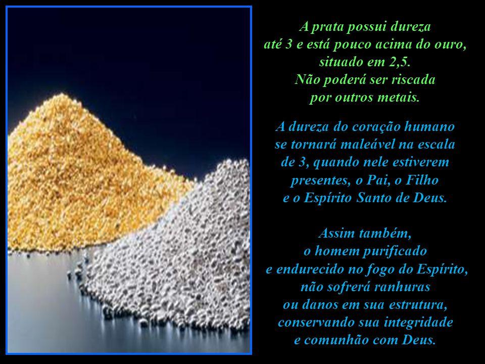 REFLEXÕES. A prata ao ser extraída do solo é um mineral de cor cinza e precisará ser purificada.. O homem sem Deus também tem uma cor cinza, pela ausê