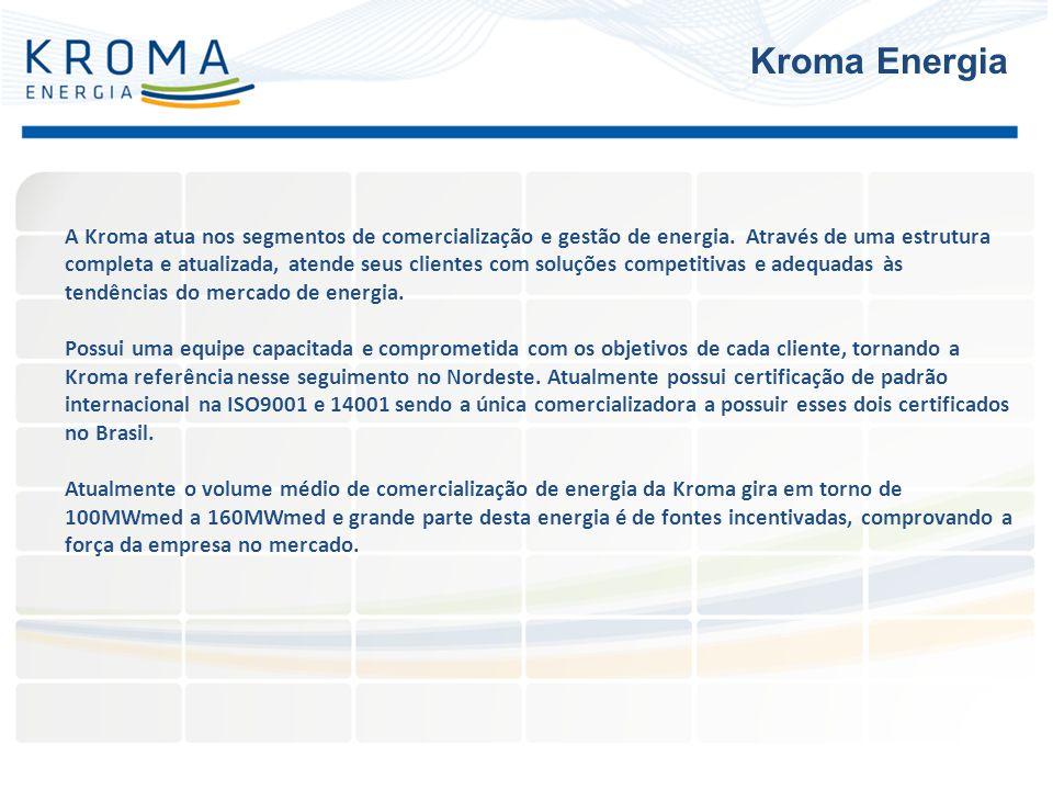A Kroma atua nos segmentos de comercialização e gestão de energia. Através de uma estrutura completa e atualizada, atende seus clientes com soluções c
