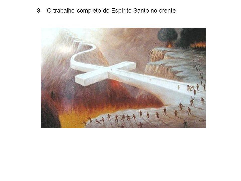 3 – O trabalho completo do Espírito Santo no crente