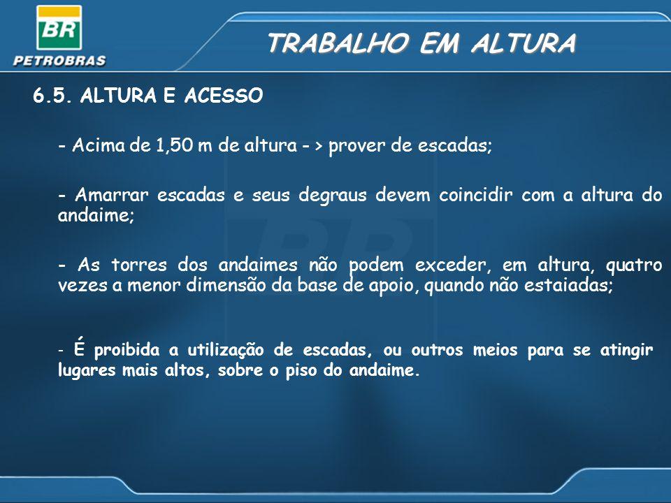 TRABALHO EM ALTURA 6.5.