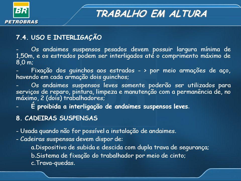 TRABALHO EM ALTURA 7.4.