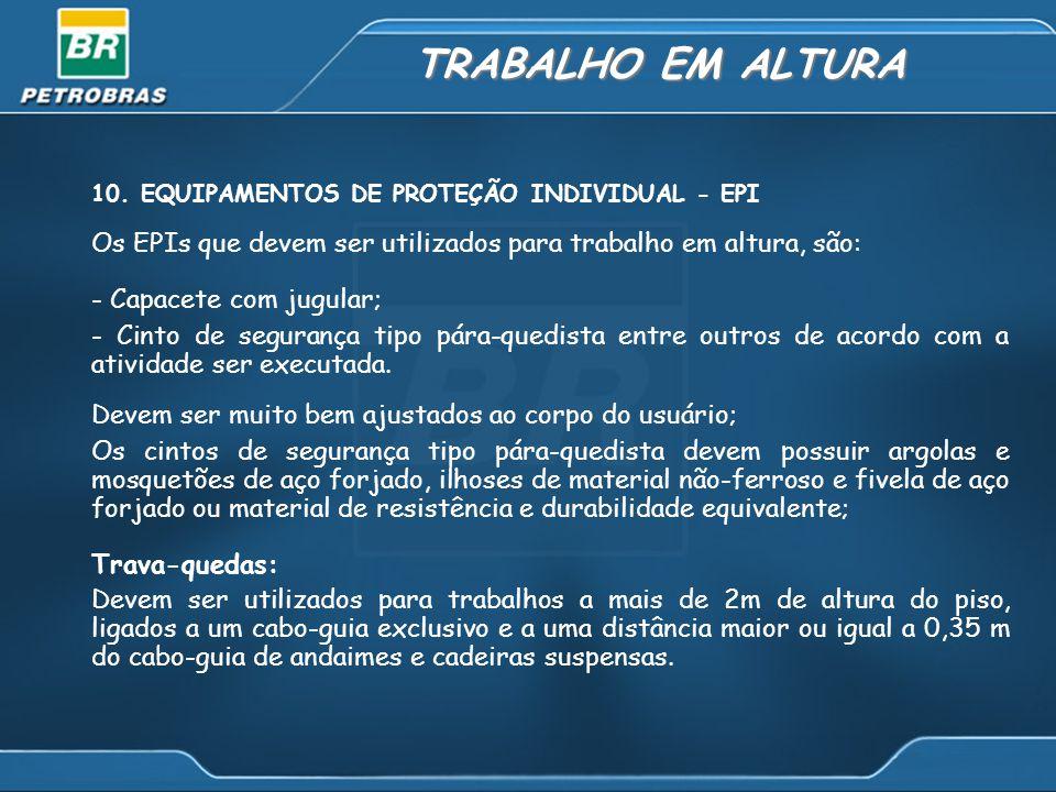 TRABALHO EM ALTURA 10.