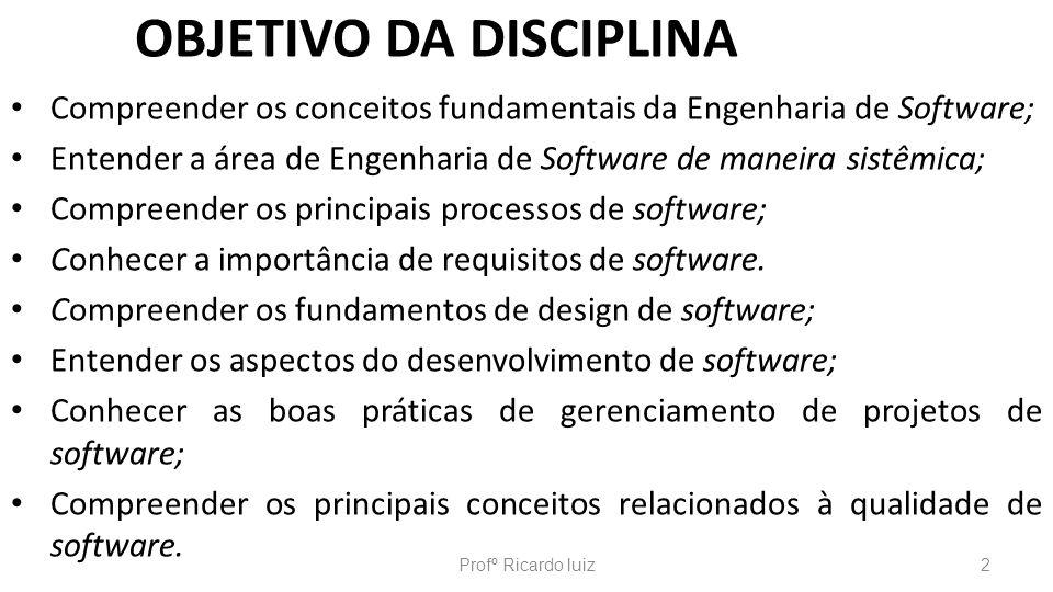 TÓPICO 2: PROCESSOS DE SOFTWARE MODELO ESPIRAL Profº Ricardo luiz73