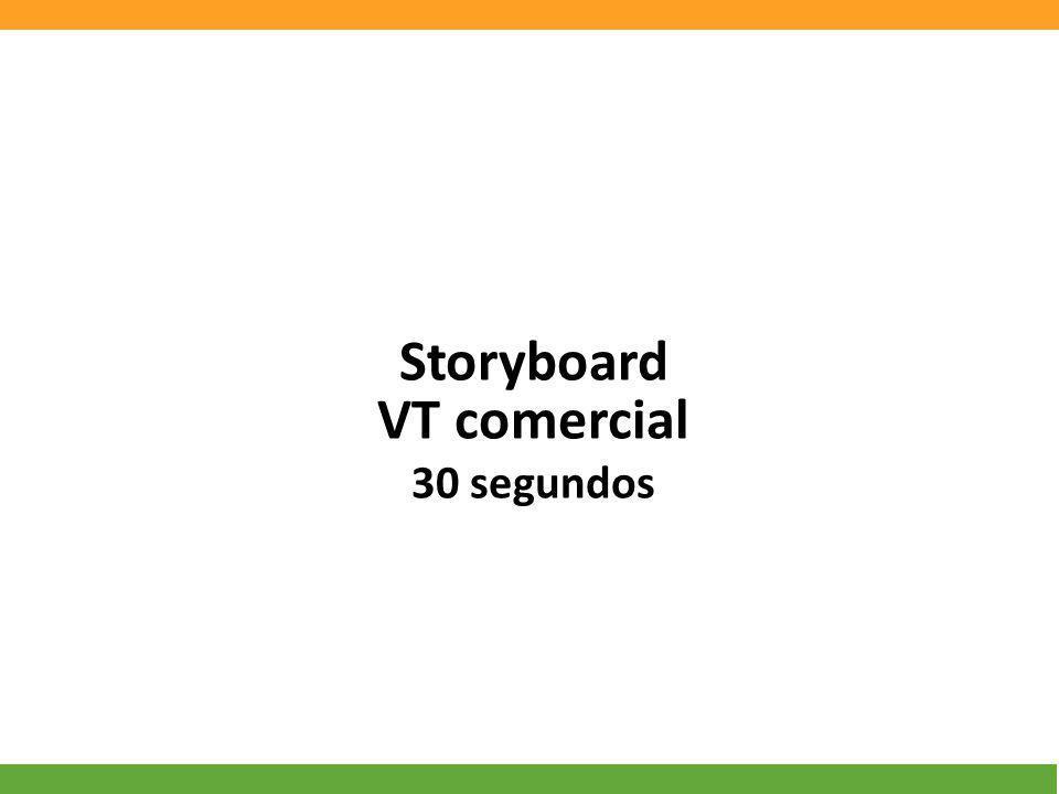 Storyboard VT comercial 30 segundos