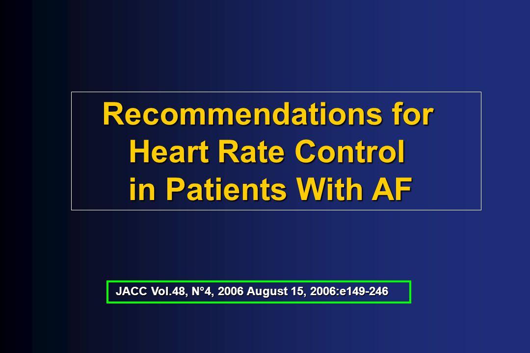 Cardioversão Elétrica ou Farmacológica da FA Classe I: - instabilidade hemodinâmica - WPW + FA com resposta rápida - sintomas incomodativos Classe IIa: - 1º episódio de FA - baixa probabilidade de recorrência da FA - FA recorrente, virgem de drogas aa Fuster et al., ACC/AHA/ESC GUIDELINES FOR THE MANAGEMENT OF PATIENTS WITH ATRIAL FIBRILLATION.