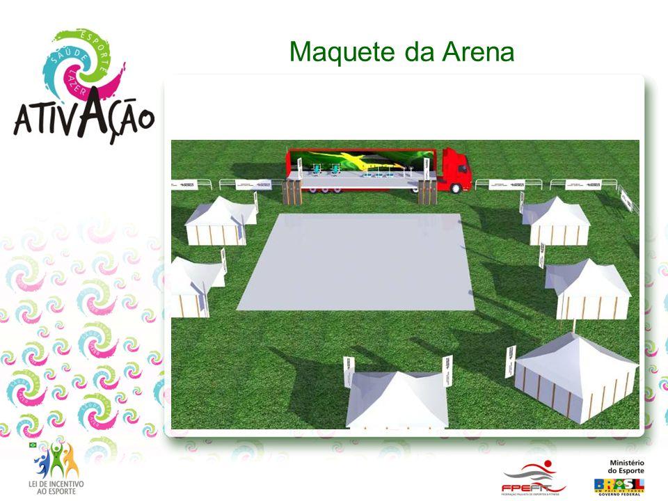 Maquete da Arena