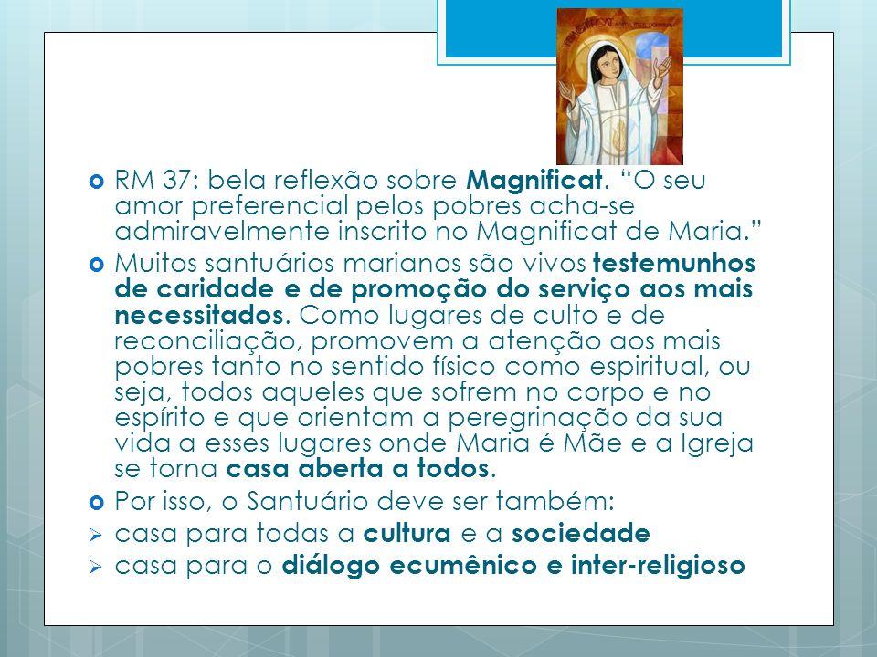 RM 37: bela reflexão sobre Magnificat.