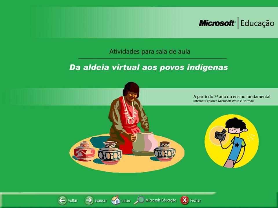 APRESENTAÇÃO Muitas das aldeias indígenas espalhadas pelo Brasil preservaram durante séculos uma cultura riquíssima, que representa o equilíbrio harmonioso entre o homem e o meio ambiente.