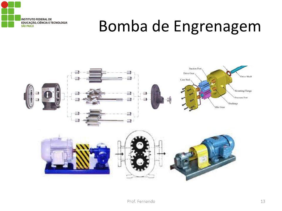 Bomba de Engrenagem Prof. Fernando13