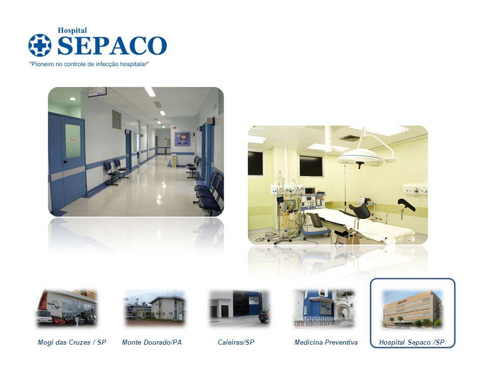Monte Dourado/PACaieiras/SPMedicina PreventivaMogi das Cruzes / SPHospital Sepaco /SP