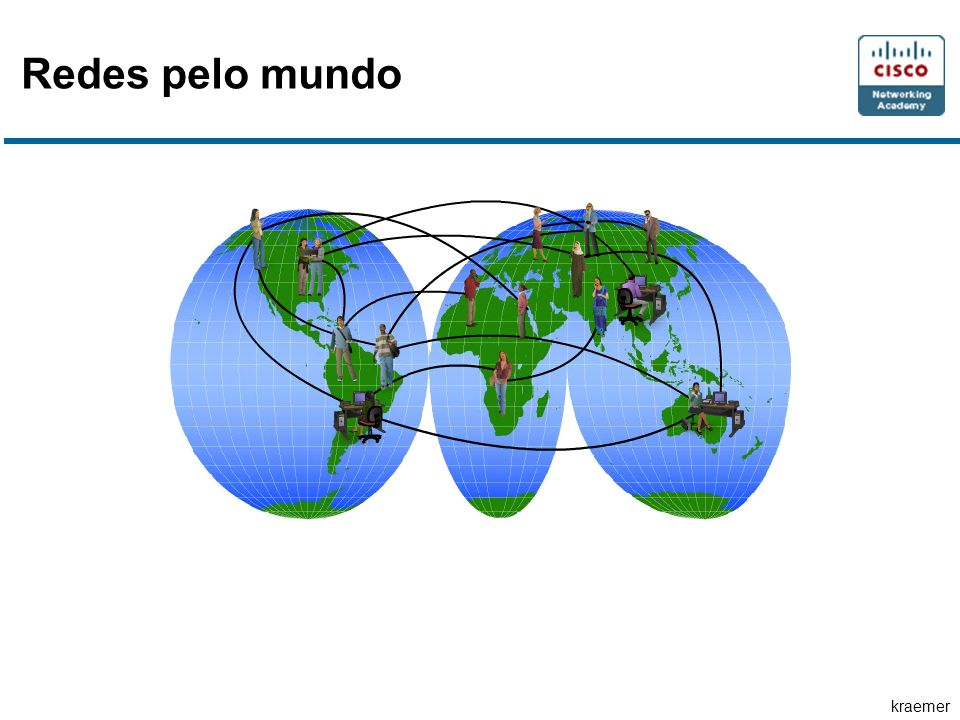 kraemer Redes pelo mundo