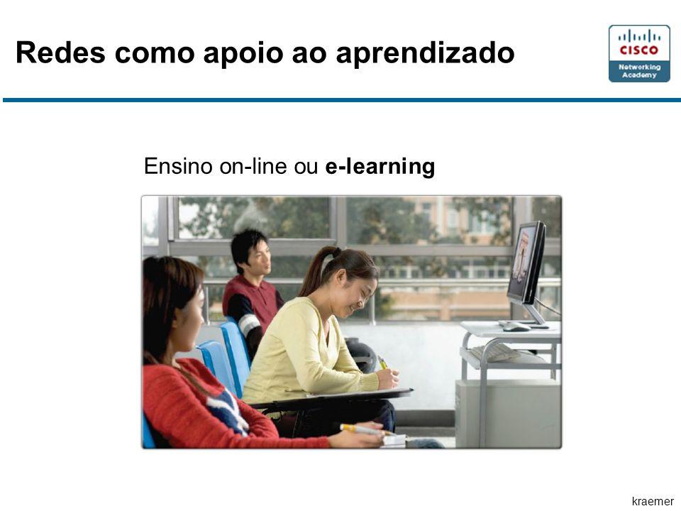 kraemer Ensino on-line ou e-learning Redes como apoio ao aprendizado