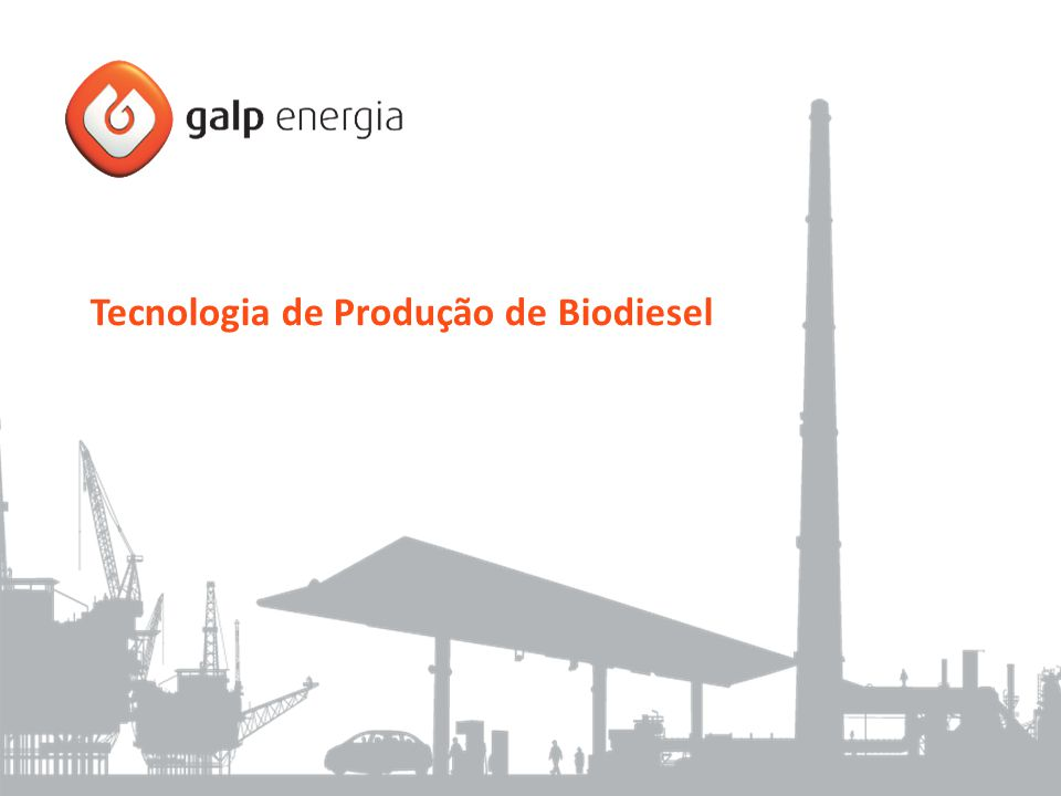 Tecnologia de Produção de Biodiesel