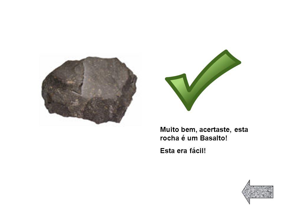 Duas são rochas magmáticas,quais? Questão Seguinte!