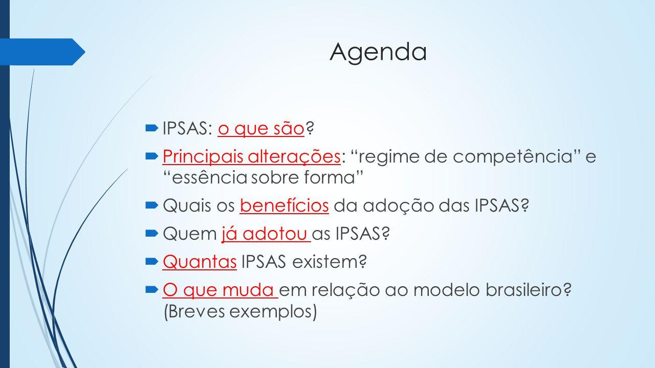 Referências International Federation of Accountants.