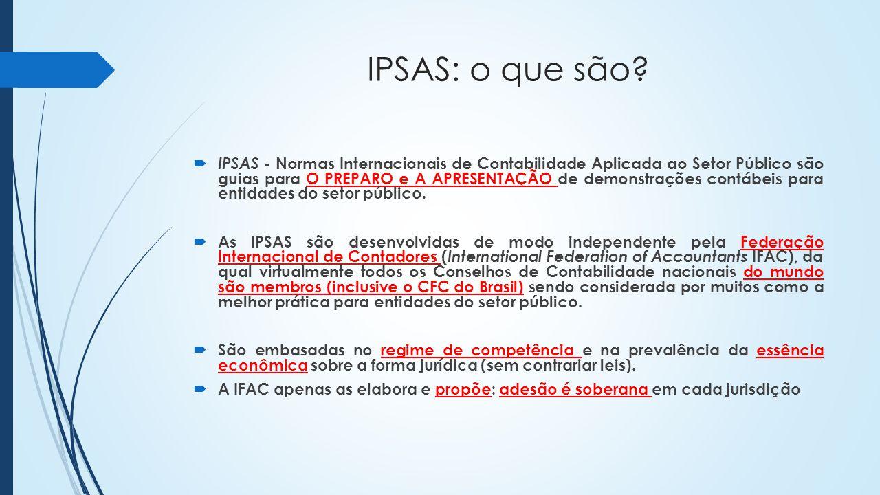 IPSAS: o que são.