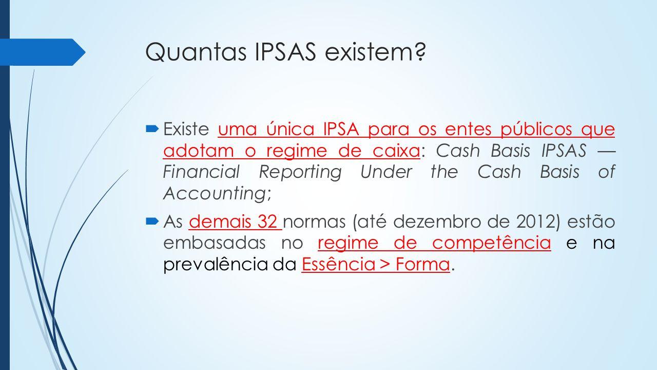 Quantas IPSAS existem.