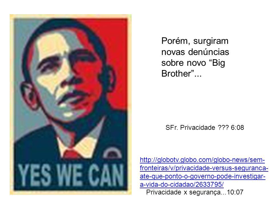 Porém, surgiram novas denúncias sobre novo Big Brother...