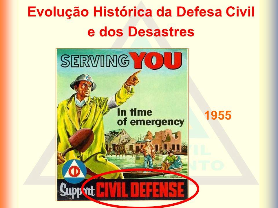 1955 Evolução Histórica da Defesa Civil e dos Desastres