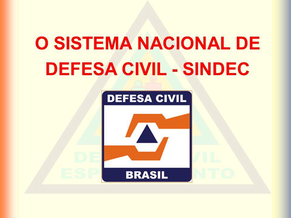 O SISTEMA NACIONAL DE DEFESA CIVIL - SINDEC