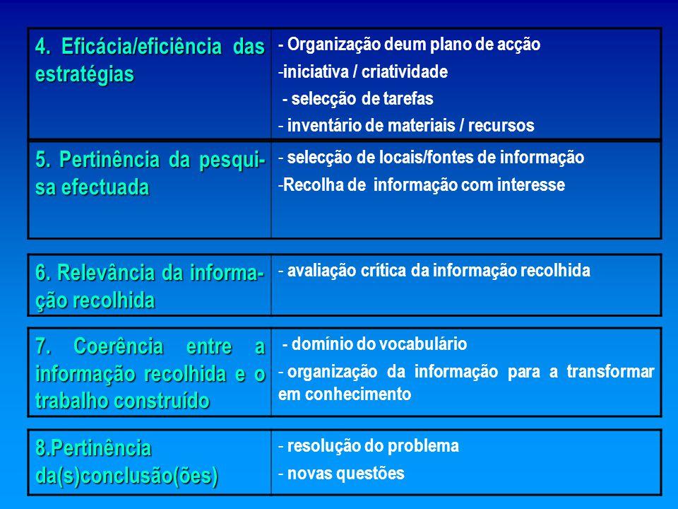 Grupo B - Démarche de Referencialização : Trabalho Prático de Cariz: Cooperativo: Metodologia de Resolução de Problemas CRITÉRIOSINDICADORES 1.