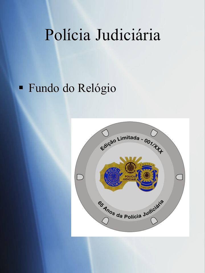 Fundo do Relógio Polícia Judiciária